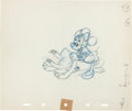 Animation Art:Production Drawing, Pluto's Sweater Minnie Mouse and Pluto Animation Drawing(Walt Disney, 1949)....