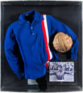 "Movie/TV Memorabilia:Costumes, A Soccer Jersey from ""Victory.""..."