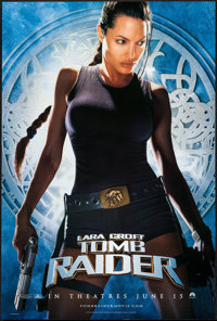 "Lara Croft: Tomb Raider & Other Lot (Paramount, 2001). One Sheets (2) (27"" X 40"") DS Advance. Adventure..."