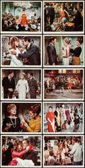 "Movie Posters:Comedy, Made in Paris (MGM, 1966). Color Photo Set of 10 & Photos (12) (8"" X 10""). Comedy.. ... (Total: 22 Items)"
