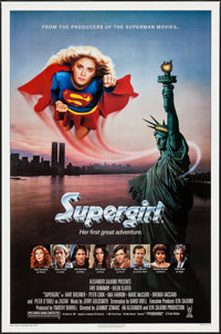 "Supergirl and Other Lot (Tri-Star, 1984). One Sheets (2) (27"" X 40.5"" & 27"" X 41""). Adventure..."