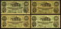 Confederate Notes:Group Lots, Quartet of T23 Confederate $10 Facsimile Advertising Notes fromWisconsin. ... (Total: 4 notes)