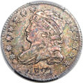 Bust Dimes, 1827 10C Pointed Top 1, JR-11, R.2, MS64 PCGS. The...