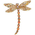 Estate Jewelry:Brooches - Pins, Opal, Gold Brooch. ...
