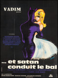 """Movie Posters:Foreign, And Satan Calls the Turns (Cocinor, 1962). French Grande (46"""" X 62""""). Foreign.. ..."""