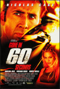 "Movie Posters:Action, Gone in 60 Seconds & Others Lot (Buena Vista, 2000). One Sheets(10) (27"" X 40"") DS & SS Regular & Advanced Styles.Action.... (Total: 10 Items)"