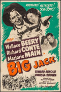 "Movie Posters:Western, Big Jack (MGM, 1949). Poster (40"" X 60"") Style Z. Western.. ..."