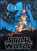 """Movie Posters:Science Fiction, Star Wars (Factors, 1977). Commercial Poster (20"""" X 28""""). ScienceFiction.. ..."""