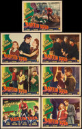 """Movie Posters:Adventure, The Adventures of Martin Eden (Columbia, 1942). Title Lobby Card& Lobby Cards (6) (11"""" X 14""""). Adventure.. ... (Total: 7 Items)"""