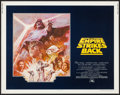 """Movie Posters:Science Fiction, The Empire Strikes Back (20th Century Fox, R-1981). Half Sheet (22""""X 28""""). Science Fiction.. ..."""