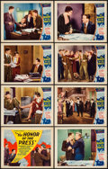 """Movie Posters:Crime, The Honor of the Press (Mayfair Pictures, 1932). Lobby Card Set of8 (11"""" X 14""""). Crime.. ... (Total: 8 Items)"""