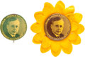Political:Pinback Buttons (1896-present), Alf Landon: Notification Pins in Both Colors.... (Total: 2 Items)