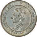 Political:Tokens & Medals, Abraham Lincoln: President's House Medal....