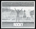 "Movie/TV Memorabilia:Posters, Rocky (MGM, 1976) Promotional Poster Lot of 11 (24"" X 30"")...."