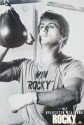 """Movie/TV Memorabilia:Posters, Sylvester Stallone Rocky (MGM, 1976) Personality Poster Lot of 2 (24"""" X 36"""").... (Total: 2 Items)"""