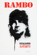 "Movie/TV Memorabilia:Posters, First Blood/Rambo One Sheet Movie Poster Lot of 2 (27"" X 40""). ...(Total: 2 Items)"