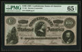 """Confederate Notes:1864 Issues, CT65/491""""Havana"""" Counterfeit $100 1864.. ..."""