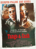 "Movie/TV Memorabilia:Posters, Tango & Cash (Warner Brothers, 1989). French Grande MoviePoster (45.5"" X 62"") ..."