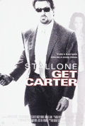 "Movie/TV Memorabilia:Memorabilia, A Group of Poster Mock-Ups Related to ""Get Carter.""..."