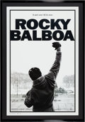 "Movie/TV Memorabilia:Posters, Rocky Balboa (MGM, 2006). Mylar Limited Edition One Sheet (30"" X43.5"")...."