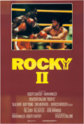 "Movie/TV Memorabilia:Posters, Rocky II (United Artists, 1979). Movie Poster (40"" X 60"")...."