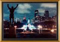 "Movie/TV Memorabilia:Photos, A Color Photograph of the ""Rocky"" Statue, Circa 2000s...."