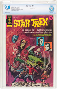 Star Trek #19 (Gold Key, 1973) CBCS NM/MT 9.8 White pages