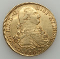 Colombia, Colombia: Charles IV gold 8 Escudos 1803 P-JF VF - Cleaned,...