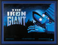 "Movie/TV Memorabilia:Posters, The Iron Giant (Warner Brothers, 1999) Framed and Signed Poster(35.5"" X 45.5""). ..."
