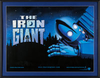 "The Iron Giant (Warner Brothers, 1999) Framed and Signed Poster (35.5"" X 45.5"")"