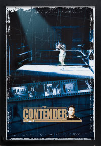 "The Contender (NBC, 2005). Framed Television Poster (26.75 X 38.75"")"