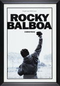 "Movie/TV Memorabilia:Posters, Rocky Balboa (MGM, 2006). Framed Advance One Sheet Movie Poster (30.5"" X 43.5"")...."