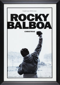 "Rocky Balboa (MGM, 2006). Framed Advance One Sheet Movie Poster (30.5"" X 43.5"")"