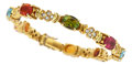Estate Jewelry:Bracelets, Multi-Stone, Diamond, Gold Bracelet, H. Stern. ...