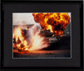 "Movie/TV Memorabilia:Photos, A Large Collection of Color Photographs Related to ""Rambo.""..."