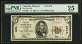 National Bank Notes:Missouri, Cassville, MO - $5 1929 Ty. 1 The First NB Ch. # 8979. ...