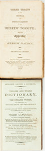 Books:Reference & Bibliography, Pair of Foreign Language Dictionaries. Various publisher's anddates. . ... (Total: 2 Items)