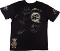 "Movie/TV Memorabilia:Costumes, A T-Shirt Signed by Cast Members from ""The Expendables.""..."
