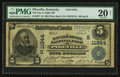 National Bank Notes:Kentucky, Pikeville, KY - $5 1902 Plain Back Fr. 607 The Day & Night NBCh. # (S)11944. ...