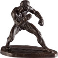 Movie/TV Memorabilia:Original Art, A Limited Edition Boxer Statuette by Thomas Holland, 1968....