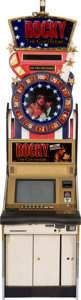 "Movie/TV Memorabilia:Memorabilia, A ""Rocky""-Themed Slot Machine, 2004.... (Total: 3 Items)"