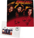 "Music Memorabilia:Autographs and Signed Items, Bee Gees Signed ""Spirits Having Flown"" LP RSO 3042 (1979). Releasedat the tail-end of the period that marked the Bee Gees ..."