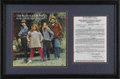 Music Memorabilia:Autographs and Signed Items, Cass Elliott Signed Mamas & Papas Contract. Widely consideredto be the most charismatic member of the Mamas & the Papas,Ca...