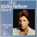 "Music Memorabilia:Autographs and Signed Items, Ricky Nelson Signed Album. A copy of the very hard-to-find ""TheRicky Nelson Story"" three-disk LP Arista 10003 (1976), inscr..."