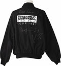 "Music Memorabilia:Autographs and Signed Items, Scorpions Signed Jacket and Photo. The German hard Rock band theScorpions reached their career peak during their 1990-91 ""..."