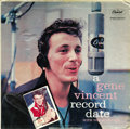 "Music Memorabilia:Autographs and Signed Items, Gene Vincent Signed ""A Gene Vincent Record Date"" Mono LP Capitol1059 (1959). A copy of Vincent's fourth album has been sign..."
