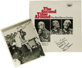 "Music Memorabilia:Autographs and Signed Items, Signed ""The Second Time Around - The Red Norvo Combo"" Famous DoorHL-108 Stereo LP, with Autographed Al White Silver Print (19..."