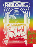 Music Memorabilia:Posters, Count Basie Pablo Jazz Festival Poster (1978). Honolulu's lovelyNeal S. Blaisdell Center (named for a former mayor) was the...