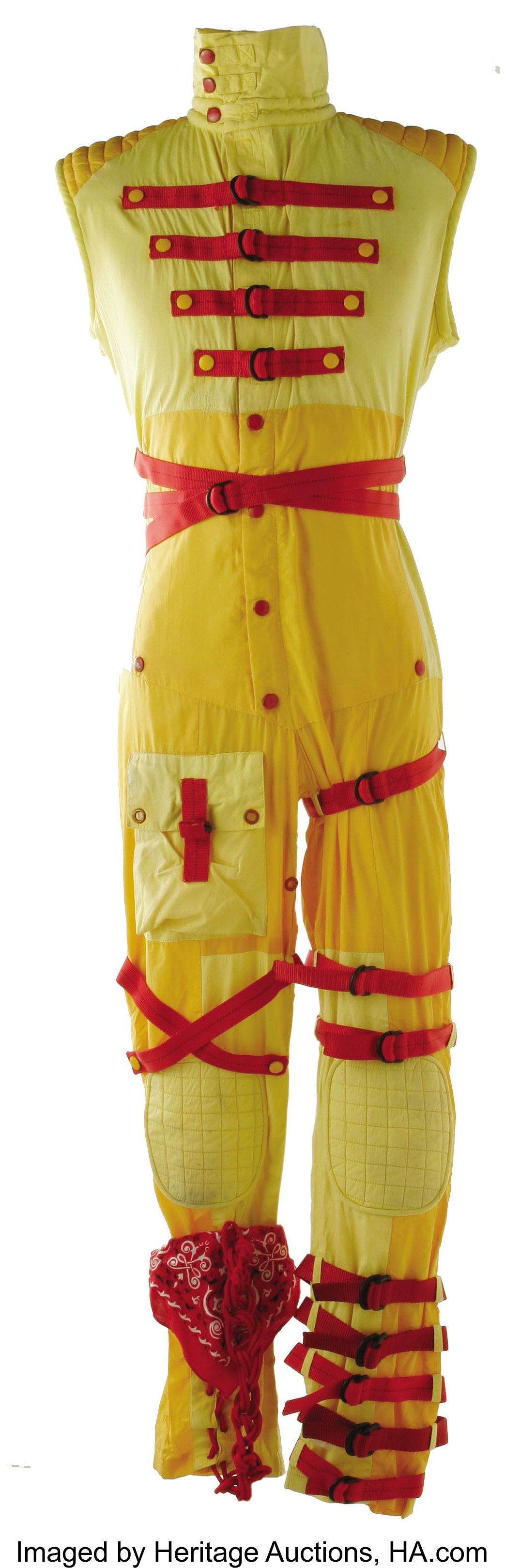 Sammy Hagar Stage Worn Jumpsuit The Long Running Debate Between Lot 21192 Heritage Auctions