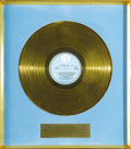 "Music Memorabilia:Awards, Delaney and Bonnie Gold Record Award. Gold album award representingtheir contribution to the ""In the Aid of the World's Re..."